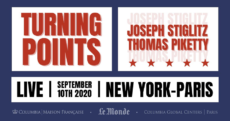 Turning Points: Joseph Stiglitz in Dialogue with Thomas Piketty, moderated by Sylvie Kauffmann