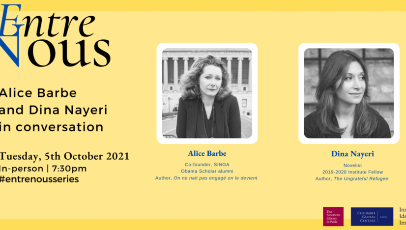 Alice Barbe and Dina Nayeri in Conversation